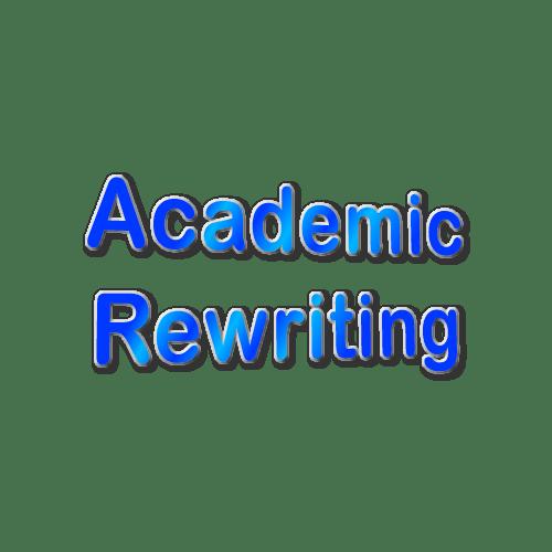 Academic Rewriting