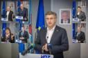 """Plenković u Gospiću: """"Ovo je utakmica iz koje moramo izaći snažniji i jedinstveniji"""""""