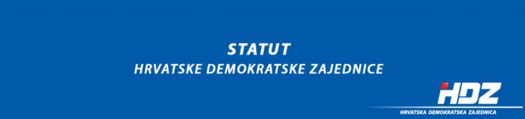 Statut HDZ-a