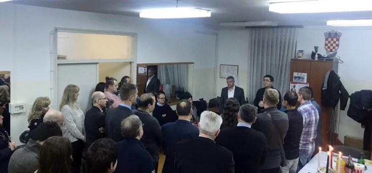 Božićni domjenak članova i prijatelja PO HDZ Podsused-Vrapče