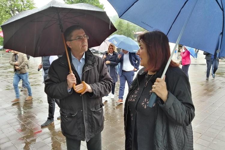 Zoran Piličić i dubravka Šuica u Podsusedu - EU izbori 2019.