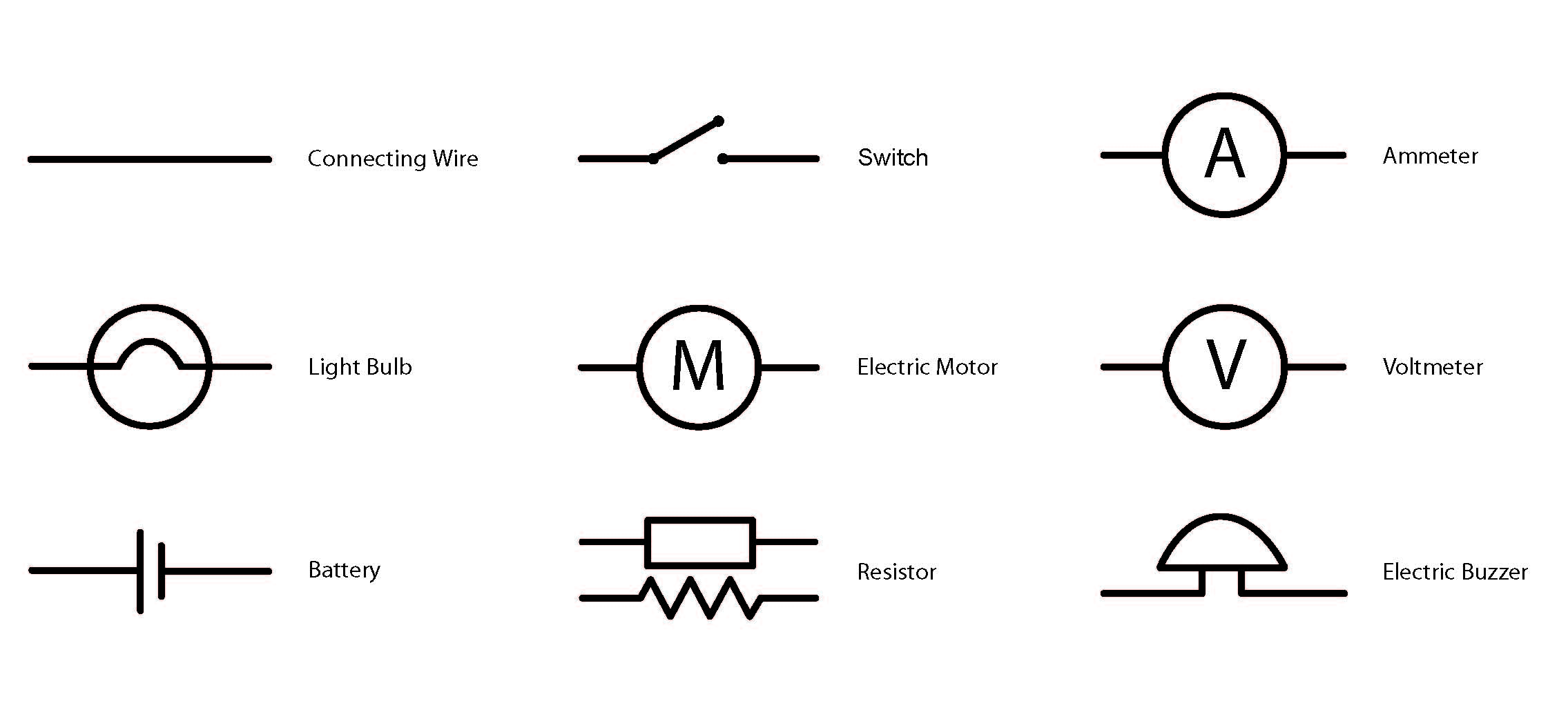 Circuits Amp Circuit Symbols Horizon Power