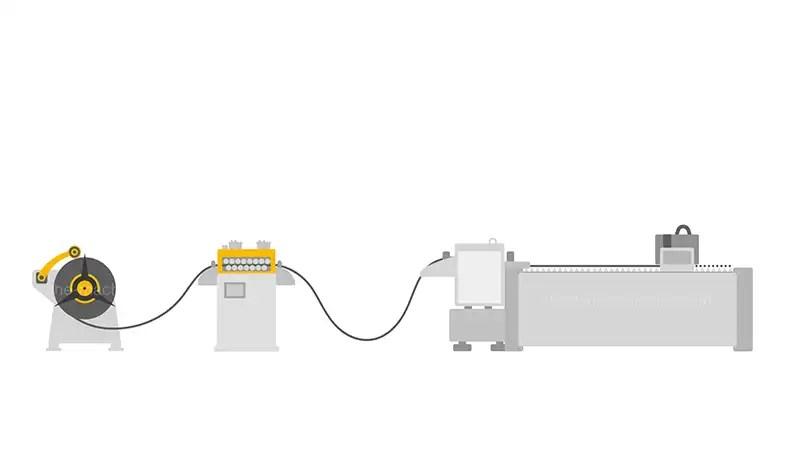 Laser Cutting Line