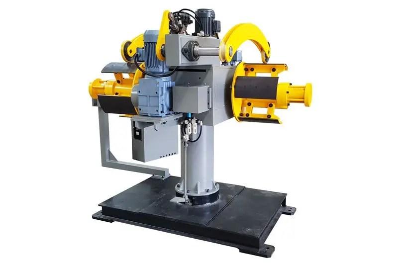 Hydraulic double decoiler DBMT-F