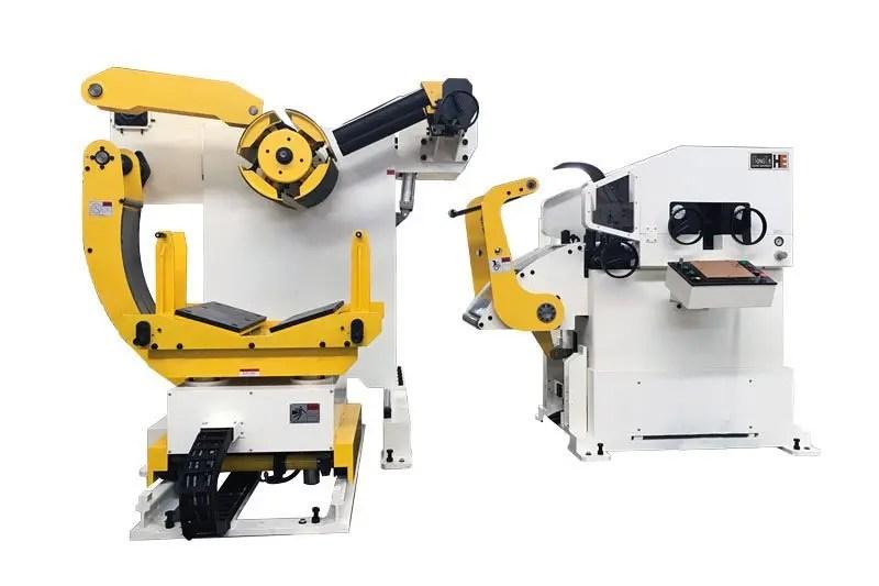 uncoiler straightener and feeder machine-glk3