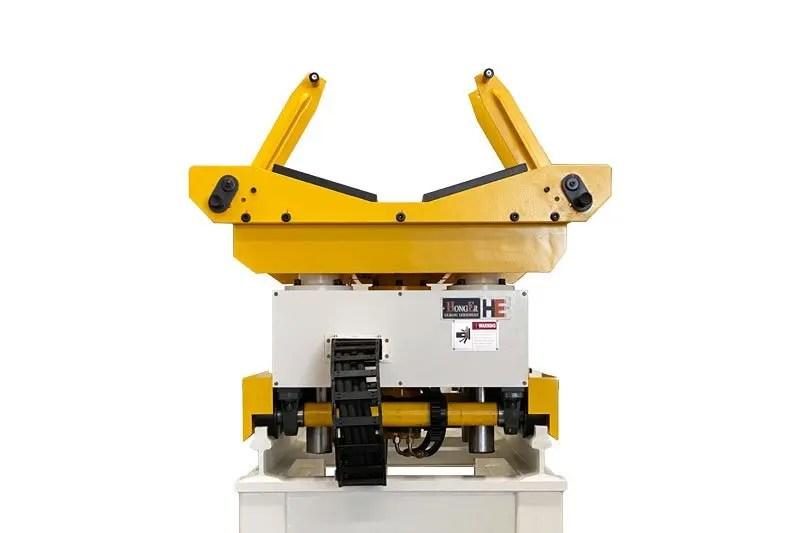 coil-loading-Decoiler straightener feeder machine