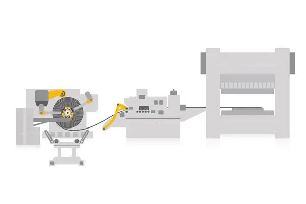 coil feeding line coil processing
