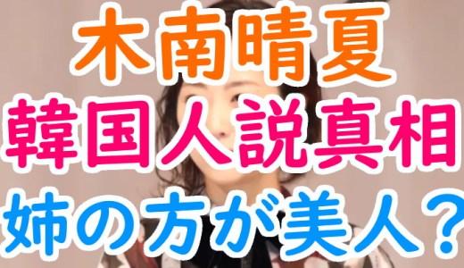 木南晴夏の姉と妹が美人すぎるので画像で比較!出身高校や韓国人説についても!