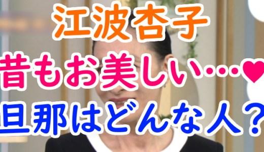 江波杏子の若い頃の画像がハーフっぽい?結婚した夫や母親についても調査