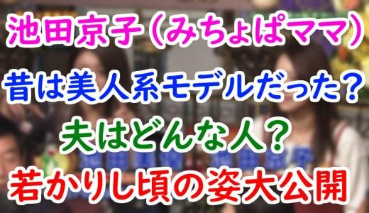 池田京子(みちょぱの母親)の年齢や職業は元モデル?昔の画像や父親(夫)との現在についても