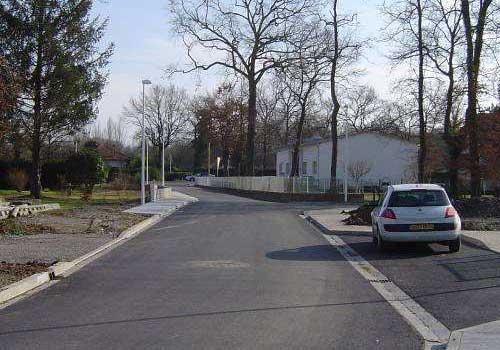 Reprise et viabilisation d'un quartier HEA Pau 64