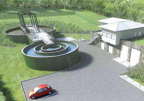 Station d'épuration membranaire 12 000 E.H. HEA Pau 64