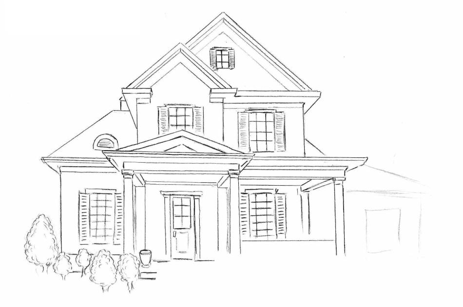 Дома-картинки-нарисованные
