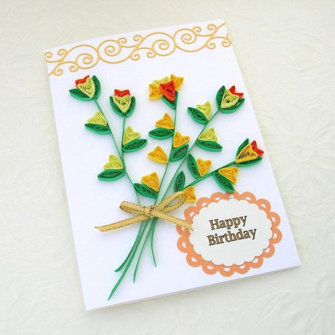 Открытки днем, сделать своими руками открытку на день рождения бабушке