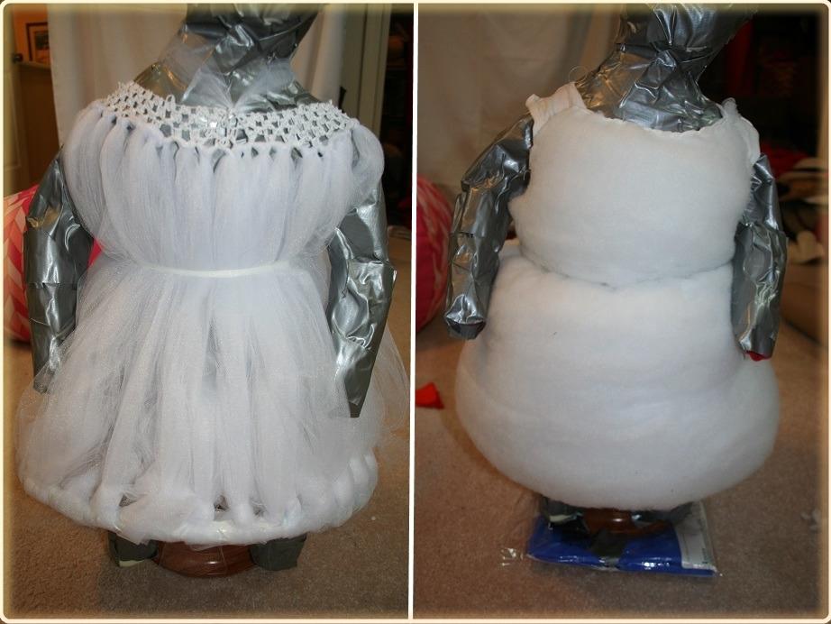 Создание костюма снеговика для мальчика