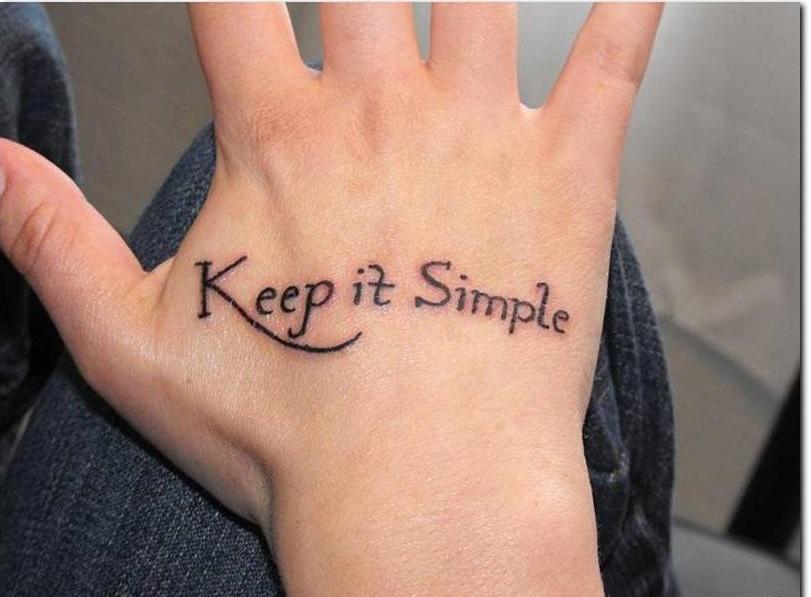 Красивые картинки надписи на руку