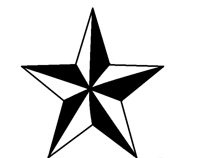 칠한 광선으로 서라운드 스타