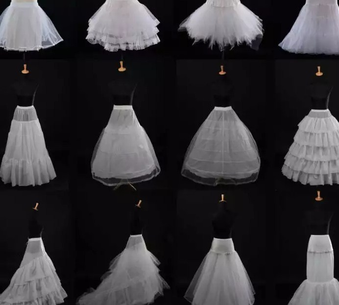 Подъюбники под свадебные платья