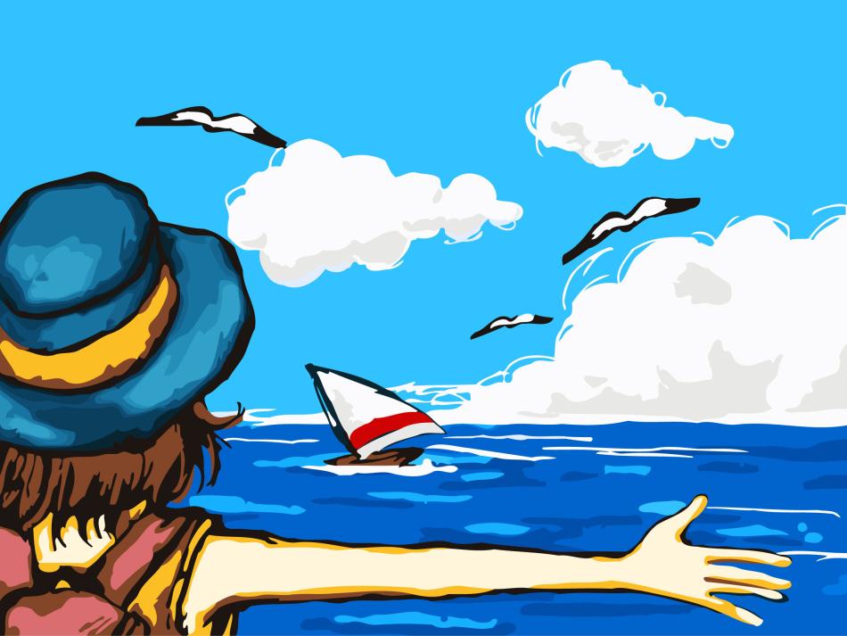 есть картинки как я провела лето на море цвет символизирует