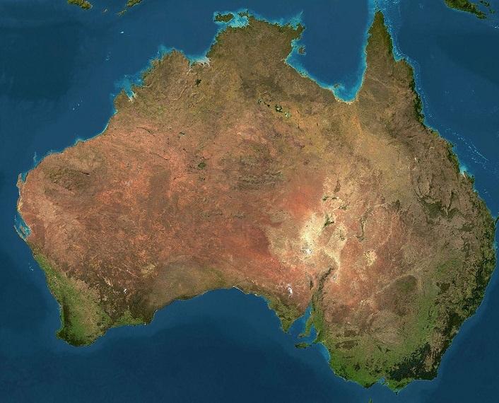 Australia adalah benua terkecil