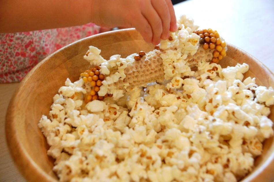Sladký popcorn doma