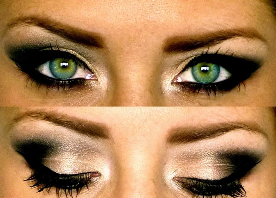макияж смоки айс для зеленых глаз фото временем под