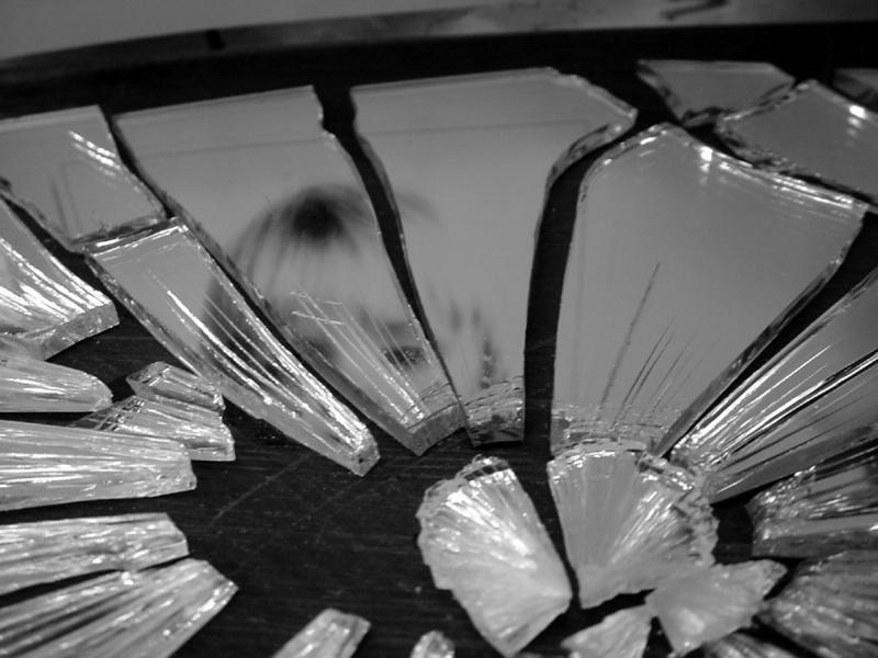 تقسیم آینه - به بیماری و مشکلات