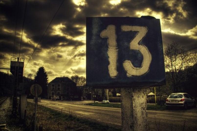 13 числа в жизни многих людей случались неприятные и страшные ситуации