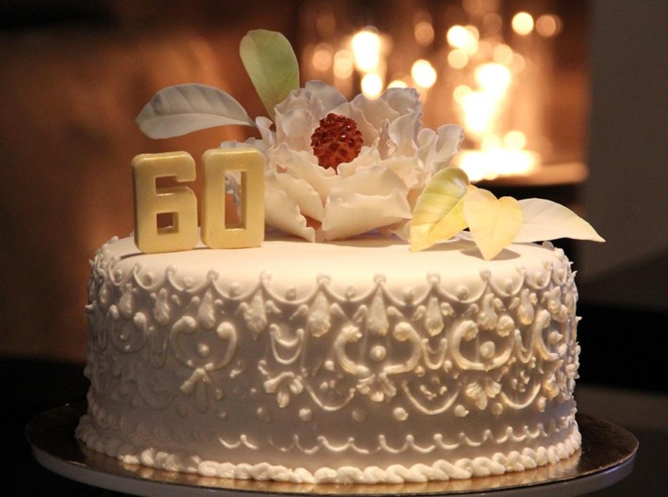 Открытка торт 50 лет, картинки работы