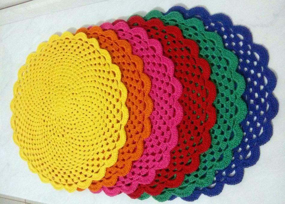 Virka servetter enkla och vackra: foto