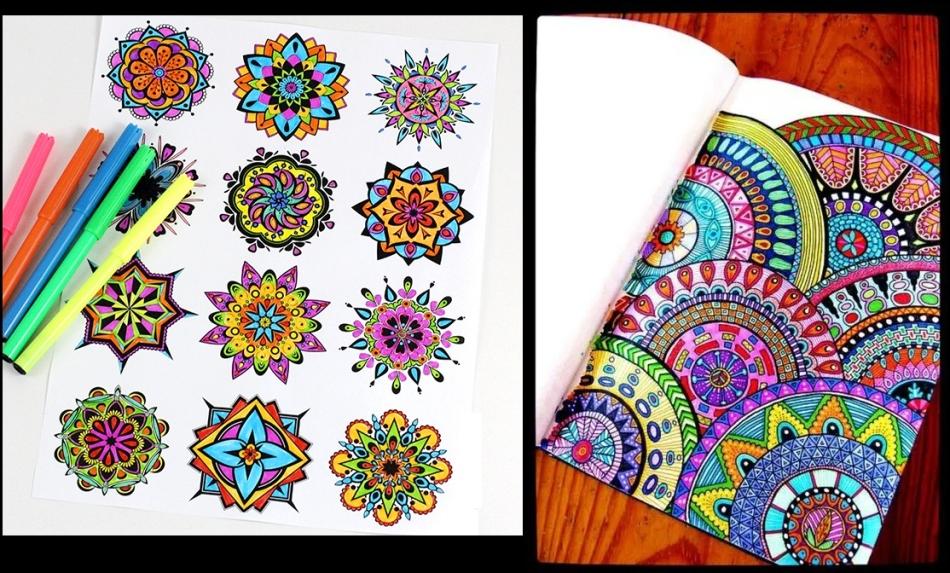 Il Mandala Più Bello Per La Colorazione Mandala Per