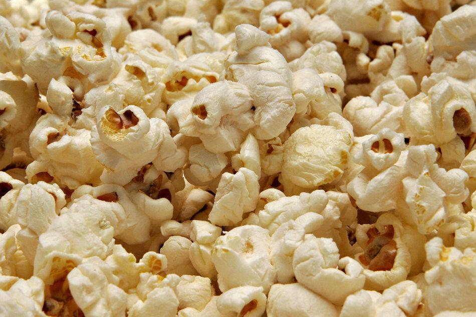 Solený popcorn doma