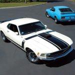 Ford S Boss 302 Boss 429 Mustangs Heacock Classic Insurance