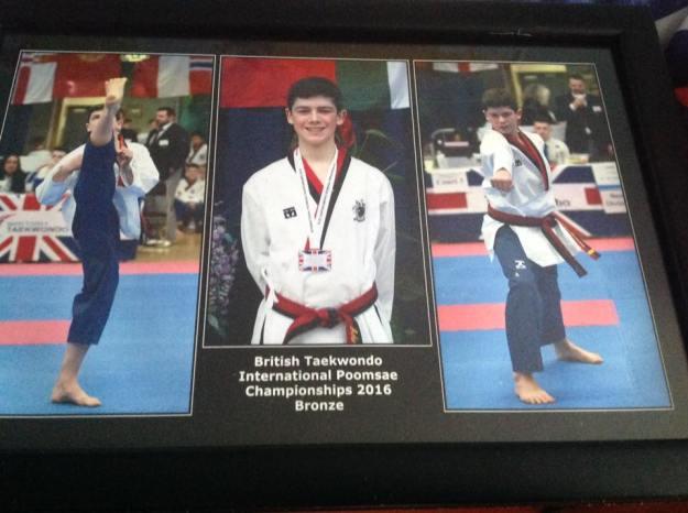 Adrian Groome Taekwondo