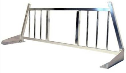 1999 2017 gm truck aluminum headache rack