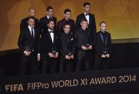 The FIFPro XI winners