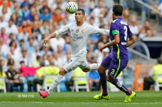 Cris watches the ball