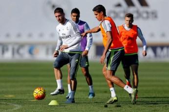 Varane and Ramos