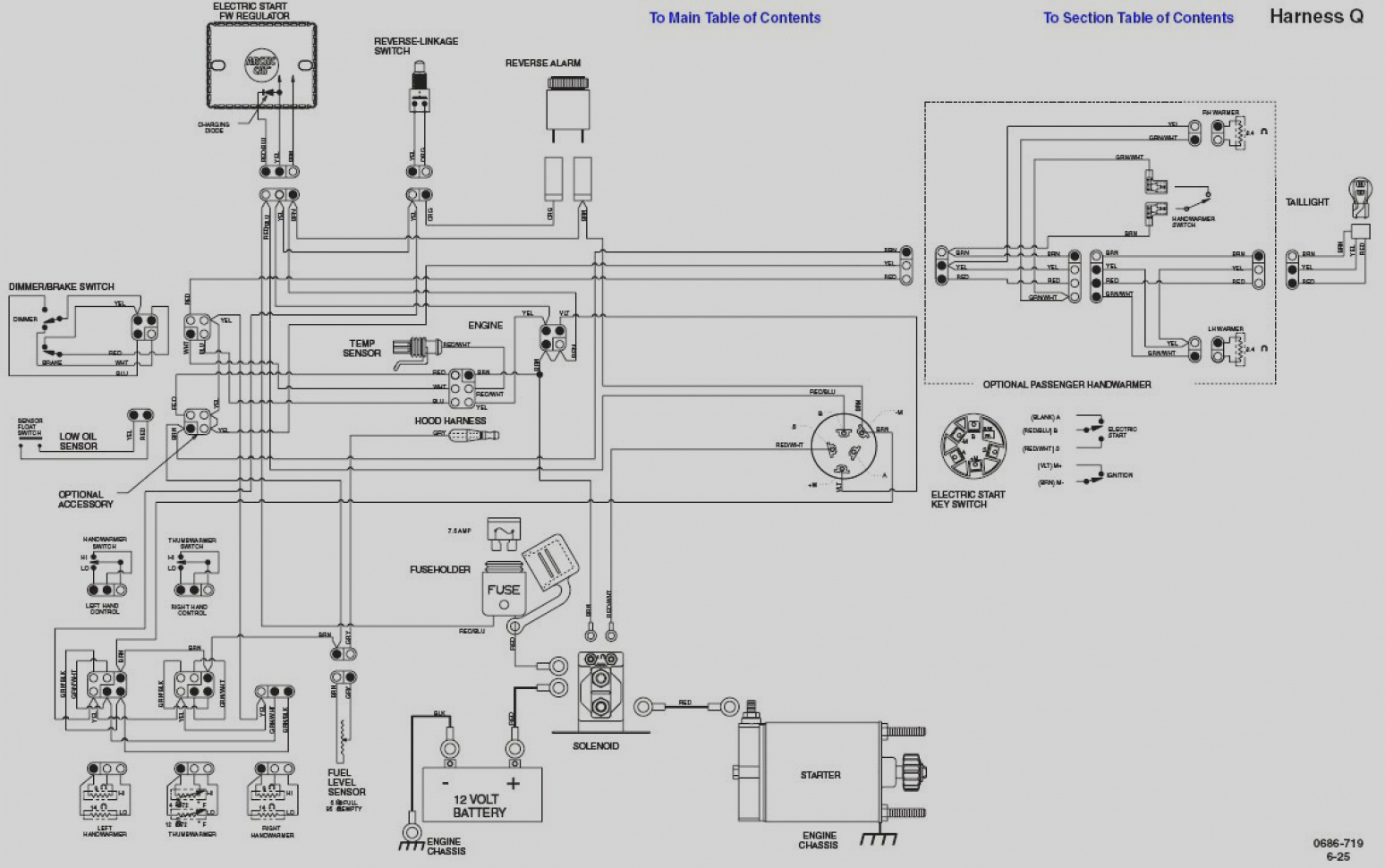 Polaris Virage Wiring Diagram