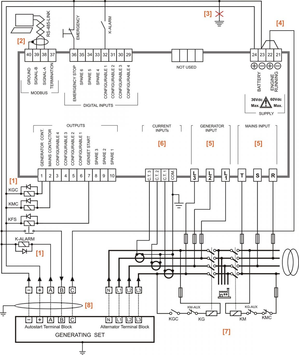 Ats Transfer Switch Wiring Diagram