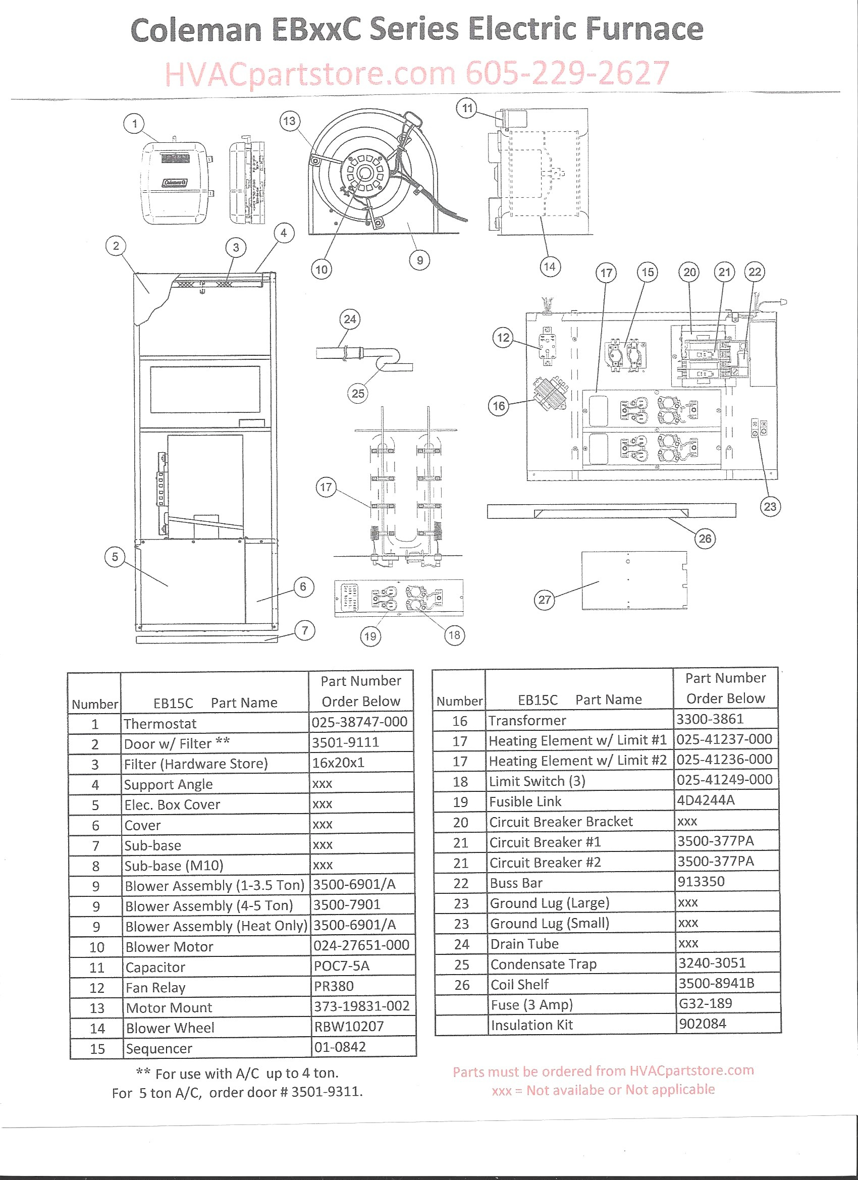 Coleman Eb15b Wiring Diagram Gallery