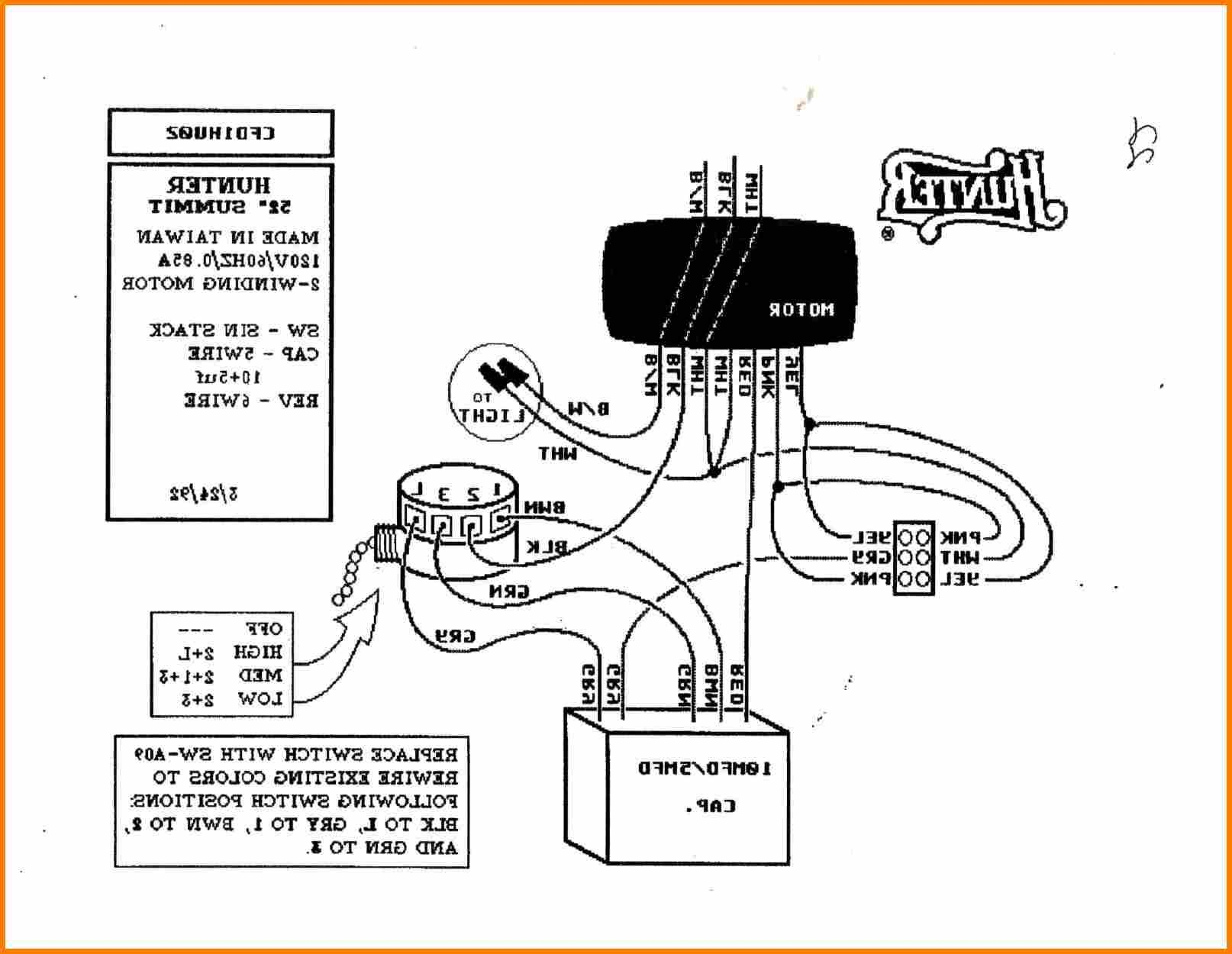 Hampton Bay Ceiling Fan Wiring Diagram With Remote