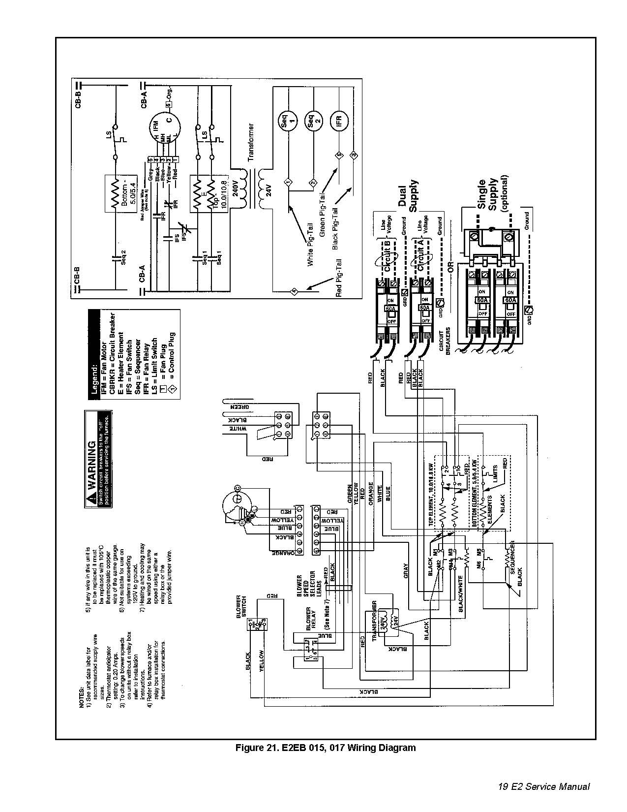 Nordyne Wiring Diagram Electric Furnace Sample