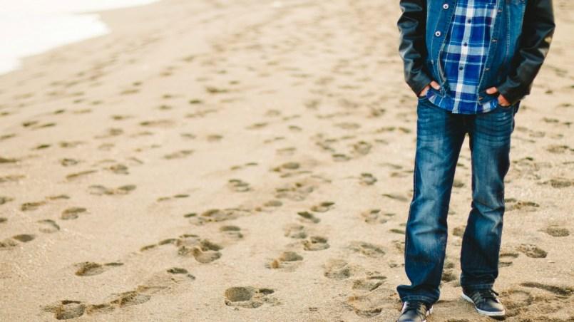 na plaży - opowiadanie o trudnych wyborach
