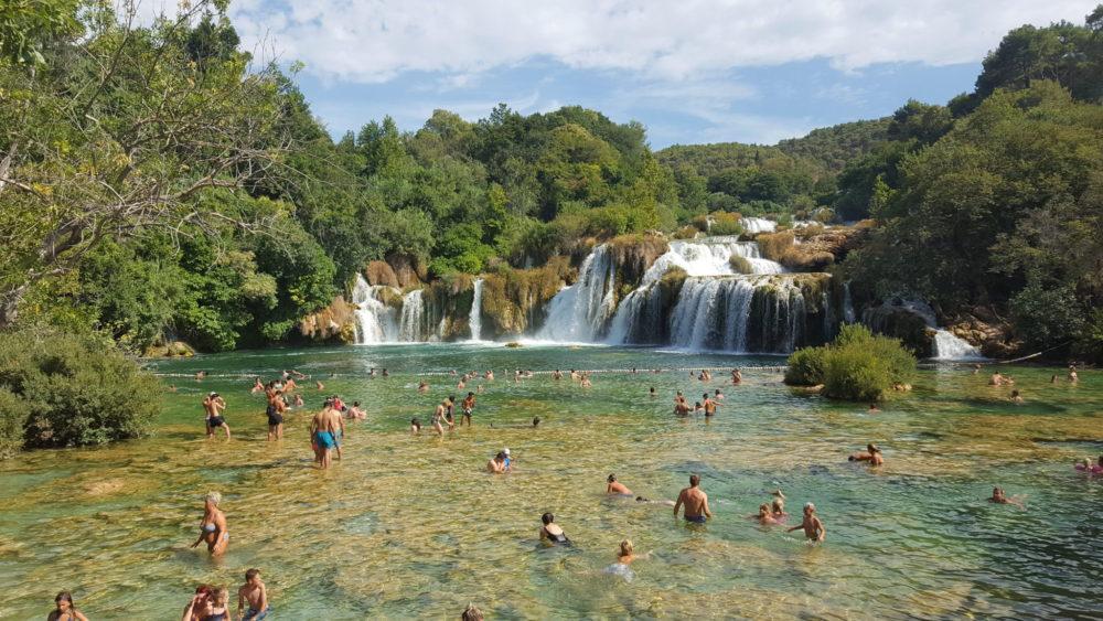 Migawki z wakacji w Chorwacji #1 - Park Narodowy Krka