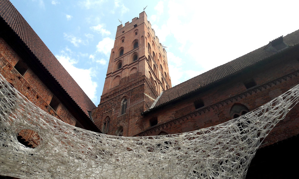 Zdobycie Malborka - wieże Malborka