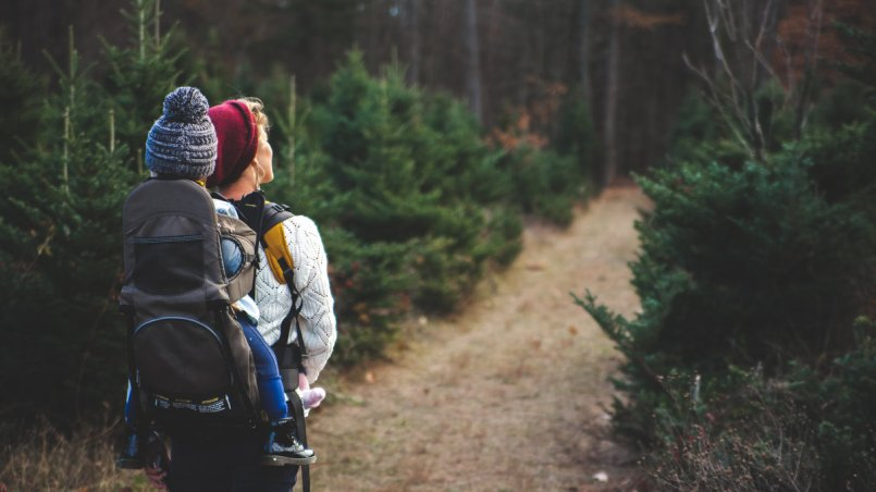 nagrywanie dzieci - piesza wędrówka