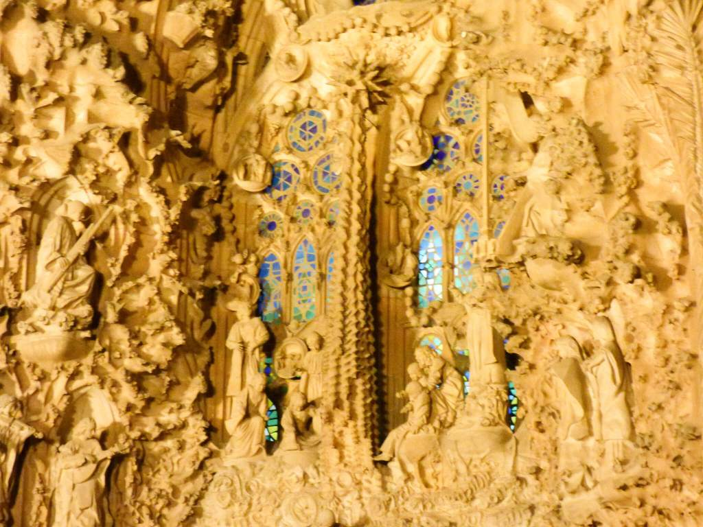 Hiszpania w zdjęciach - Sagrada Familia z bliska