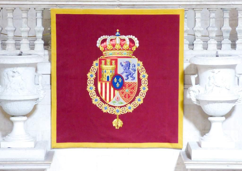 herb Hiszpanii - Madryt w Hiszpanii - Hiszpania w zdjęciach