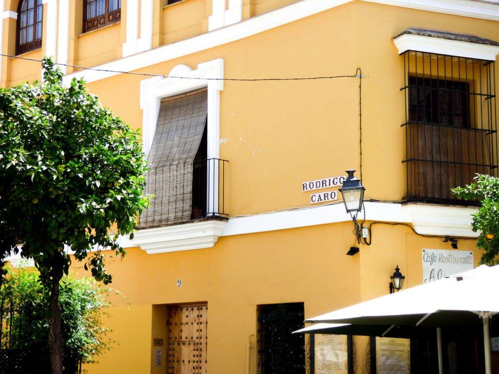 Rodrigo Caro Sevilla - zdjęcia z Sewilli